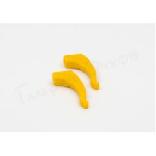 Фиксаторы заушников (желтые)